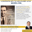 "Celebrating the Life of Fred Rogers: A Conversation with ""The Good Neighbor"" Author Maxwell King"